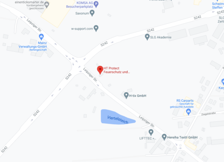 HT-Protect bei Google Maps