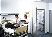 Sprinkler Krankenhaus